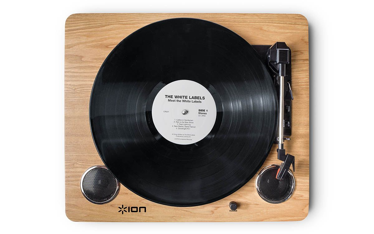 ion usb turntable with built-in cd recording
