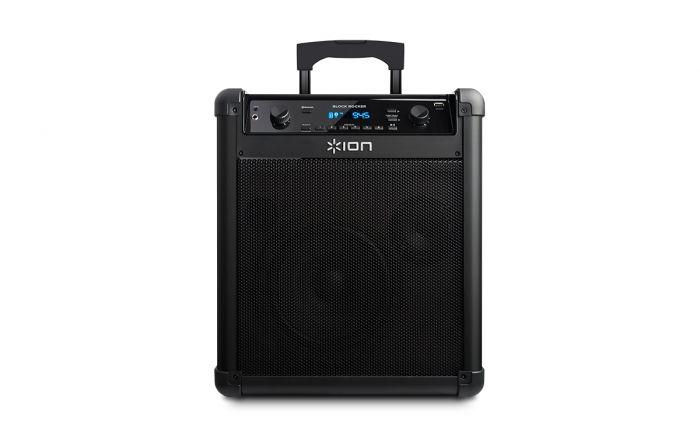ION Block Rocker iPA76C AudioPortable Bluetooth Speaker With Mic Black