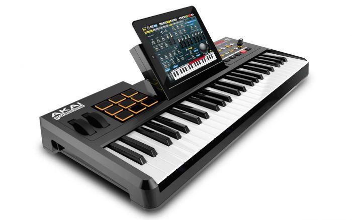 how do i hook up a midi keyboard to my ipad