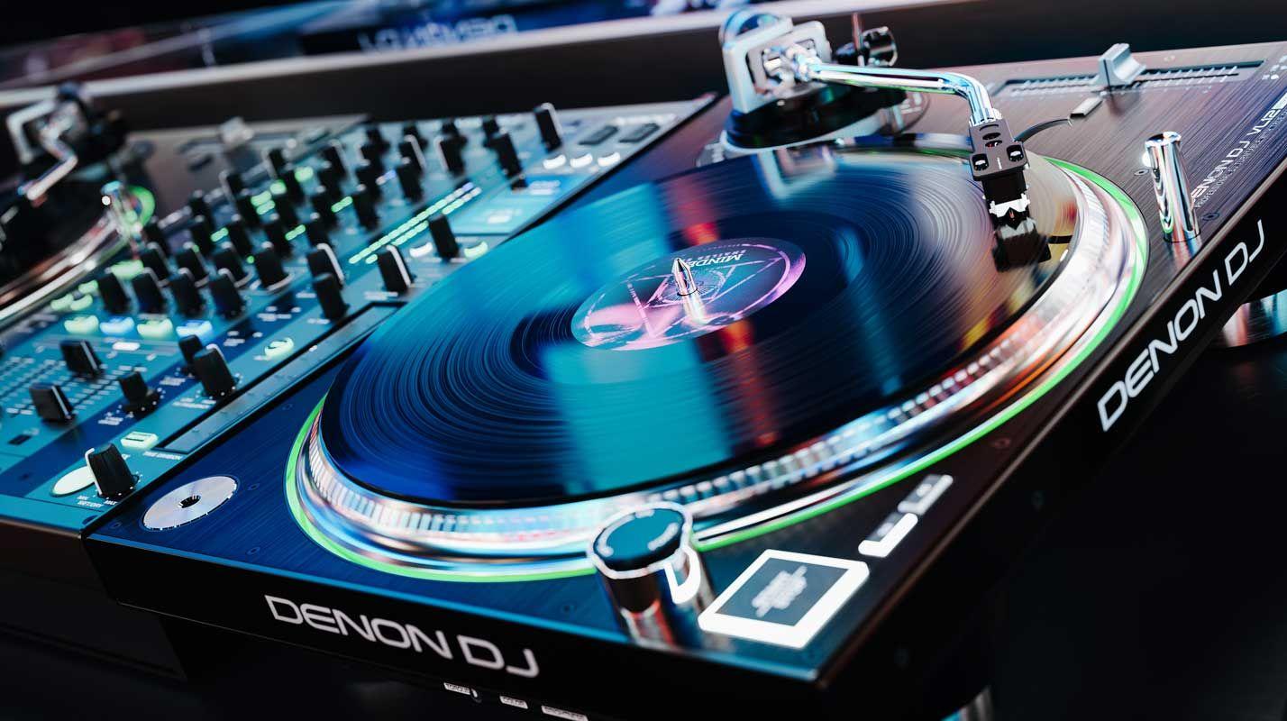DJ Turntables   Direct Drive   DJ Enginering Technology