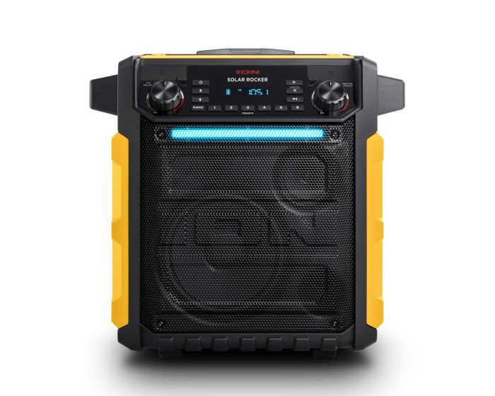 25d680d5825 High Power All-Weather Solar Rechargeable Speaker