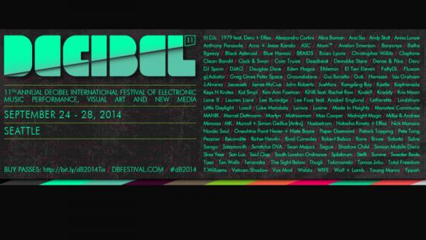 Rane At The Decibel Festival 2014
