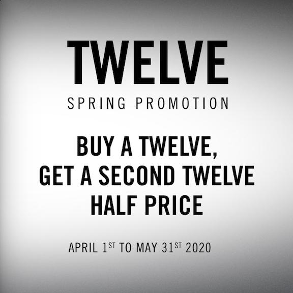 RANE Limited Time Promotion - Buy a TWELVE, Get a TWELVE Half Price