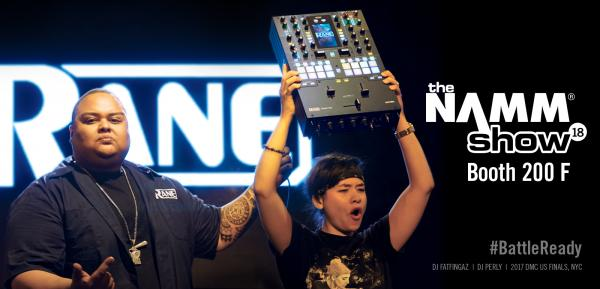 RANE DJ® ROCKS NAMM WITH STUNNING NEW SEVENTY-TWO MIXER AND TWELVE CONTROLLER FOR BATTLE-READY DJ!