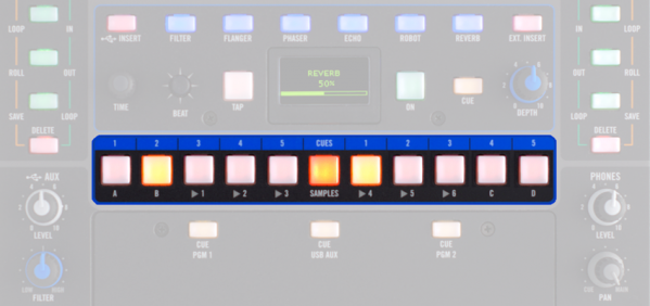 Midi Mapping Loop Rolls to the Rane Sixty-Two Cue Buttons