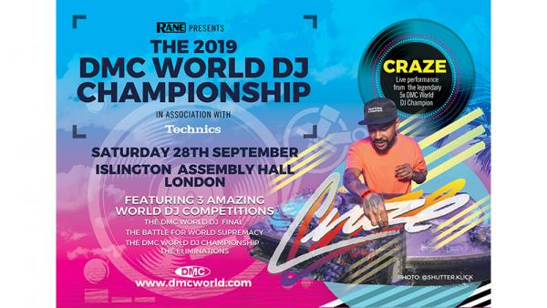 RANE presents the DMC World DJ Championship 2019