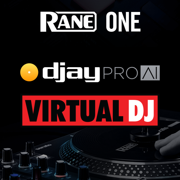 The RANE ONE Now Supports djay Pro AI and Virtual DJ