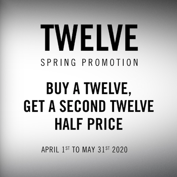 RANE Limited Time Promotion - Buy a TWELVE, Get a TWELVE Half Price