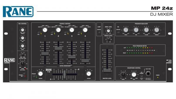 Rane's First DJ Mixer: The MP 24