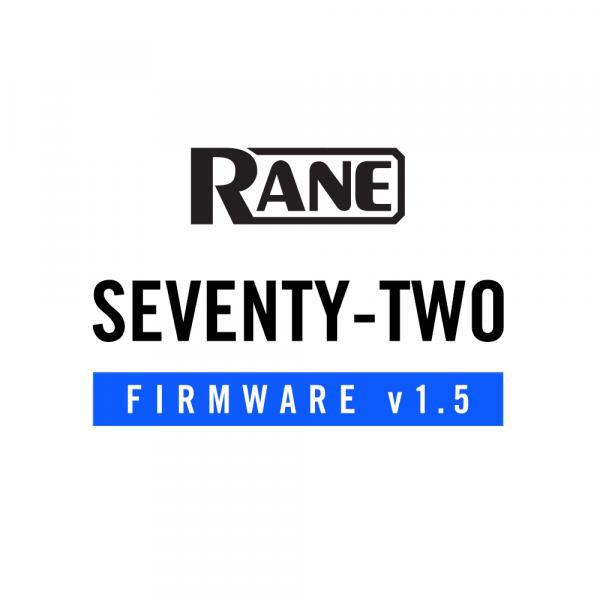 SEVENTY-TWO 1.5 Firmware Update
