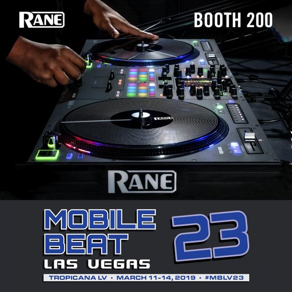 RANE will be at Mobile Beat 23 in Las Vegas