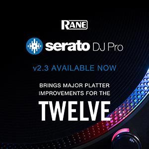 New Serato DJ Pro 2.3 Release - Improvements to RANE TWELVE