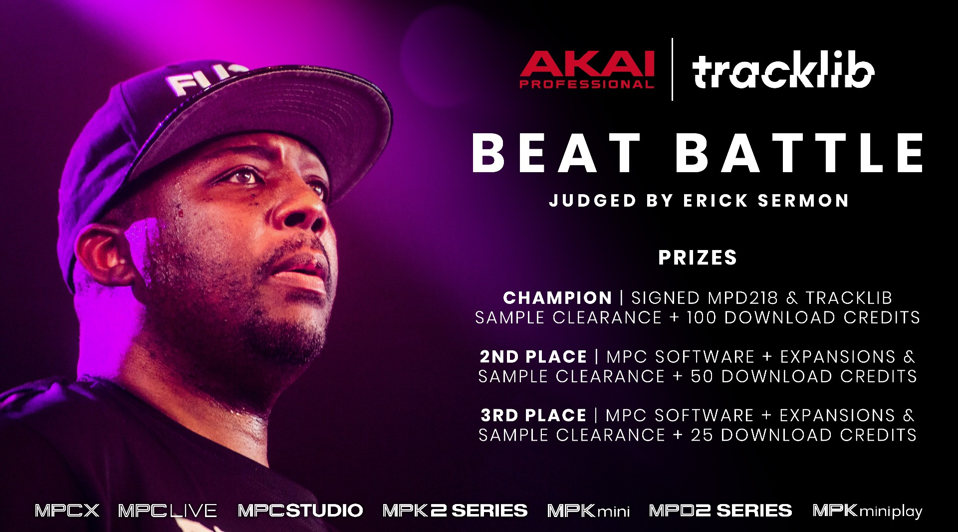 Akai Professional & Tracklib Join Forces with an Exclusive