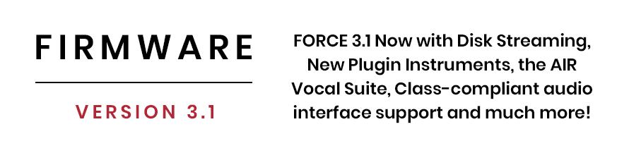 Firmware v3.1