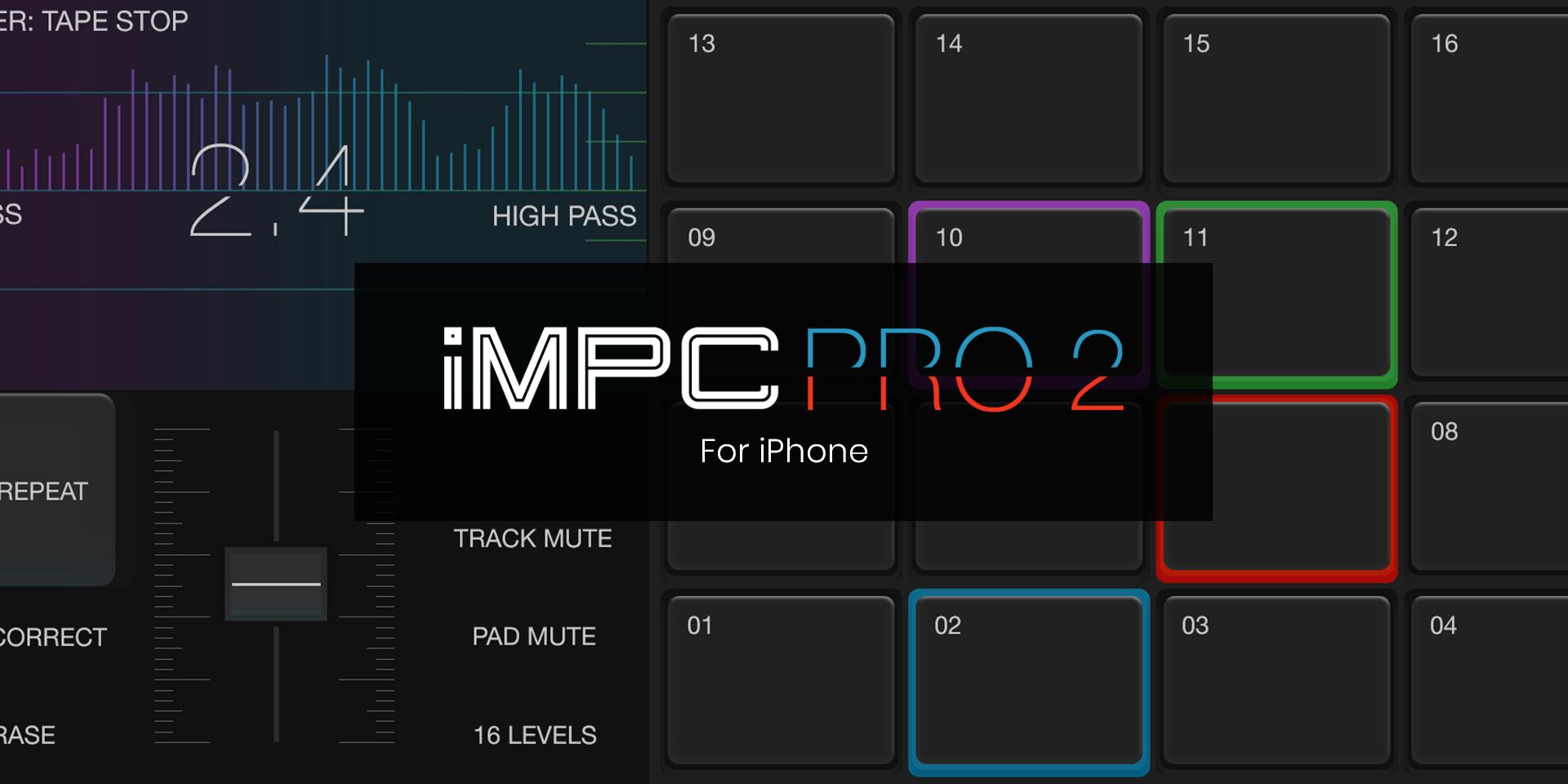 Akai Professional iMPC Pro 2 for iPhone