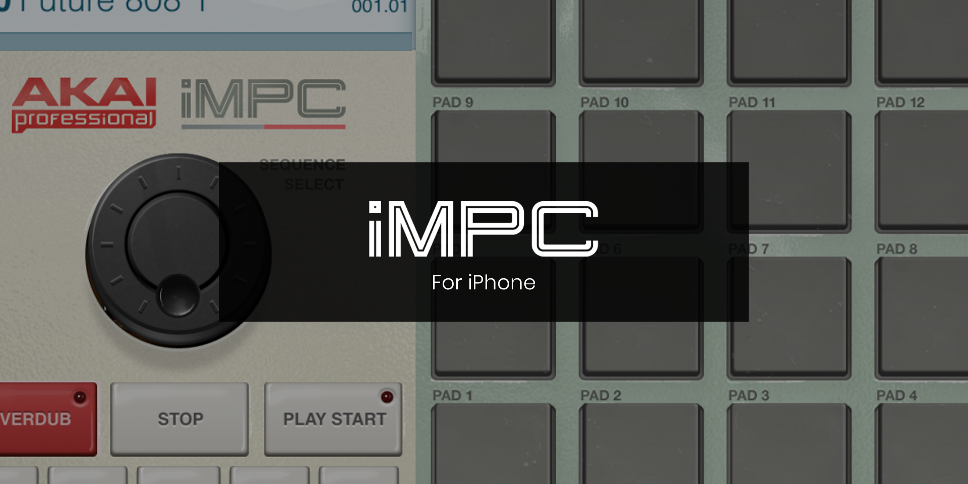 Akai Professional iMPC for iPhone