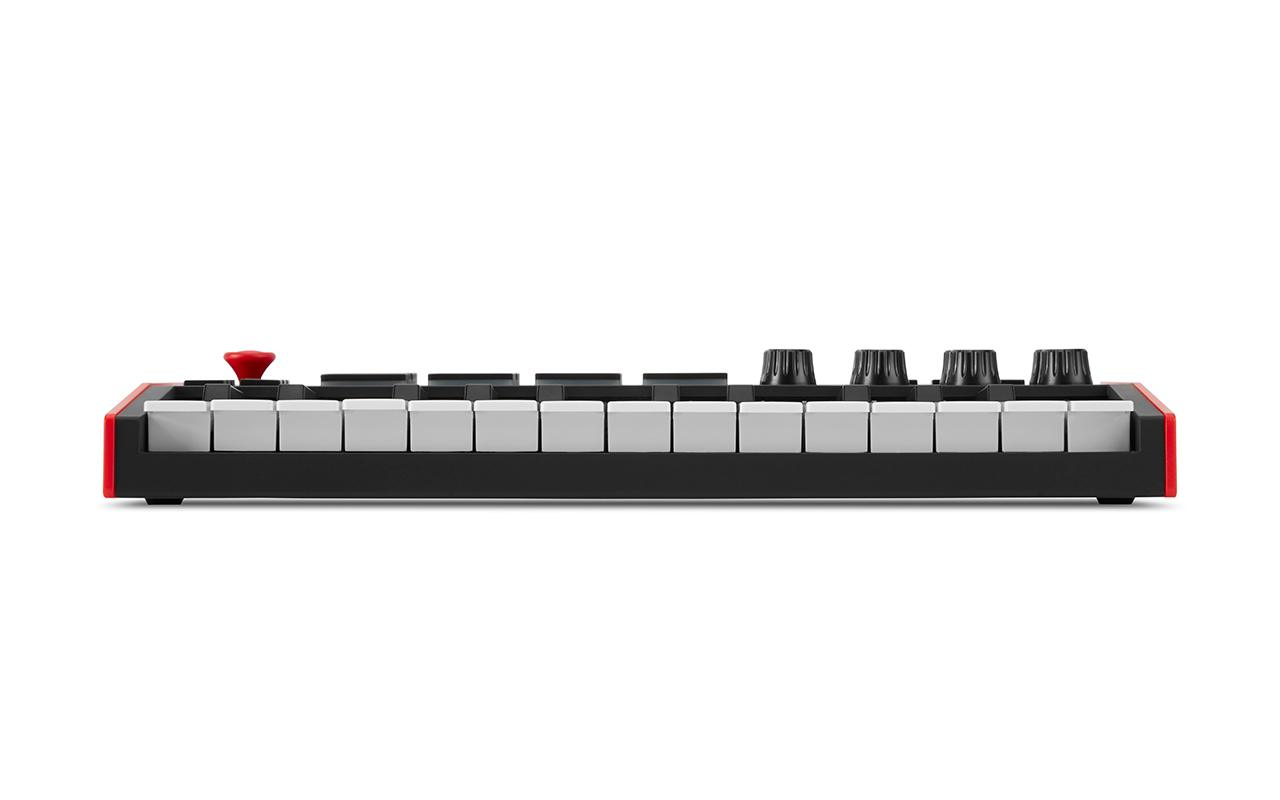 Front view of MPK Mini MIDI Controller for DAW