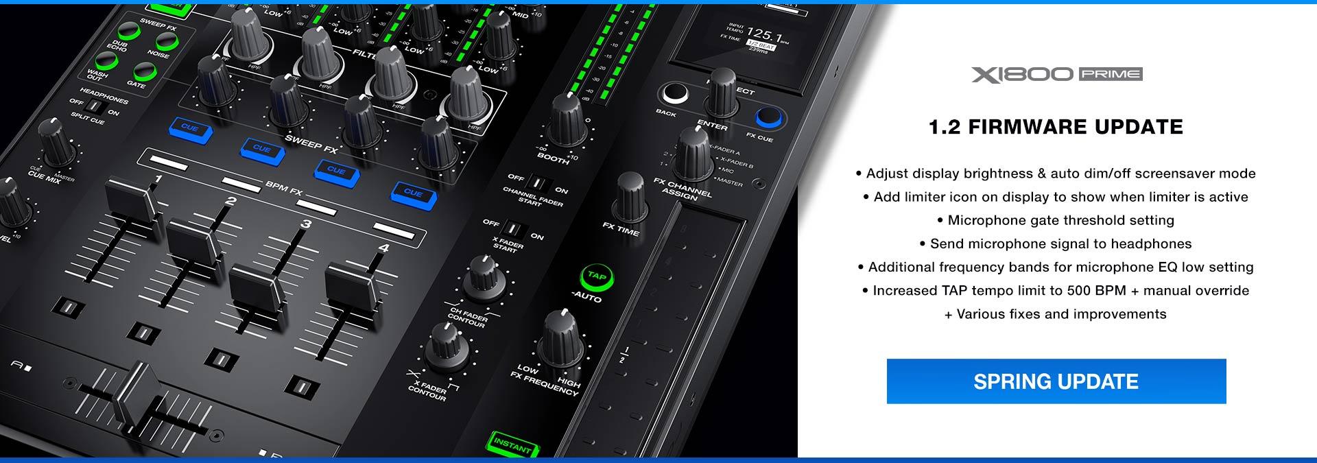 DENON DJ-X1800 DJ MIXER
