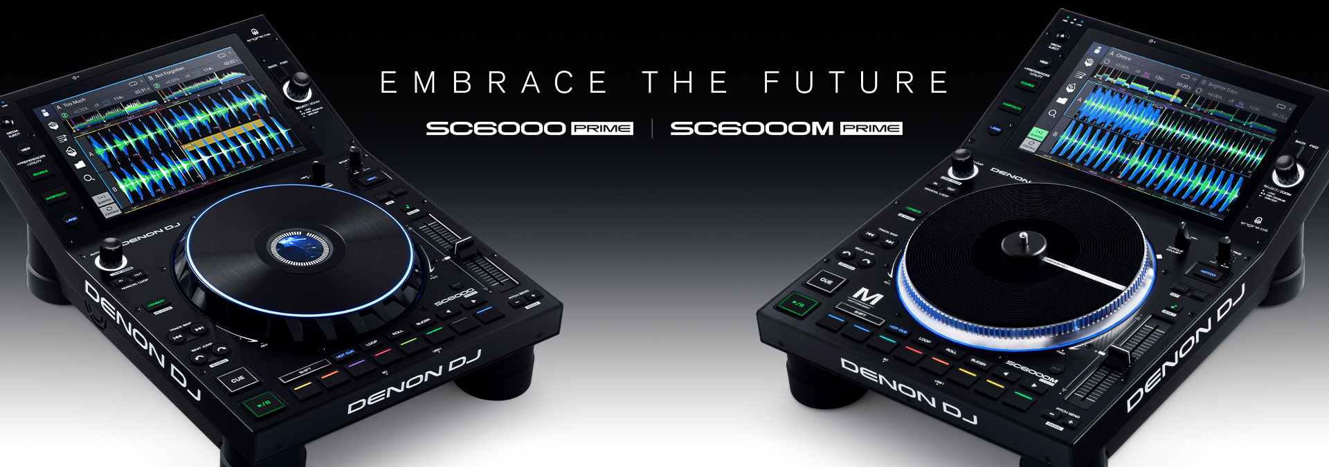 SC6000 & SC6000M Professional DJ Media Players