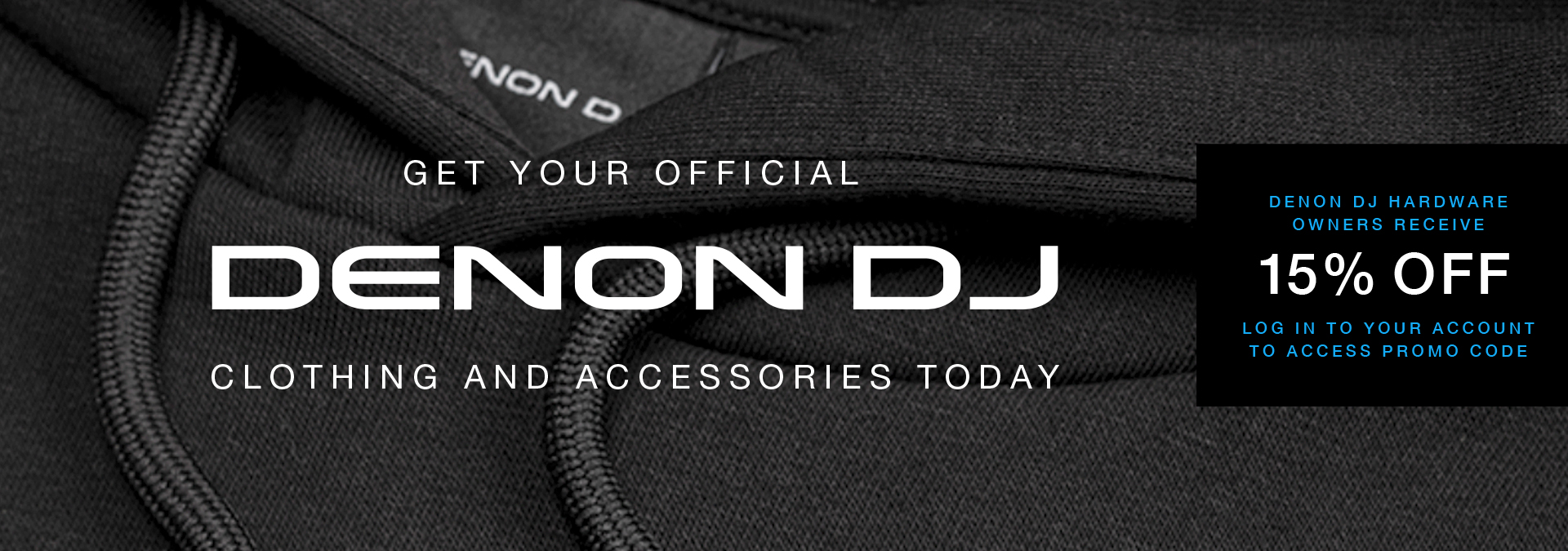 Denon DJ Merch
