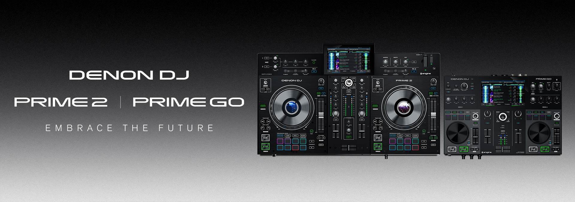 PRIME 2 & PRIME GO Standalone DJ Systems