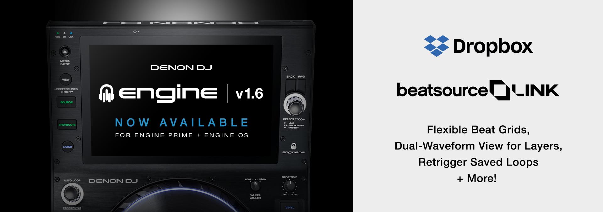 Engine OS v1.6 released