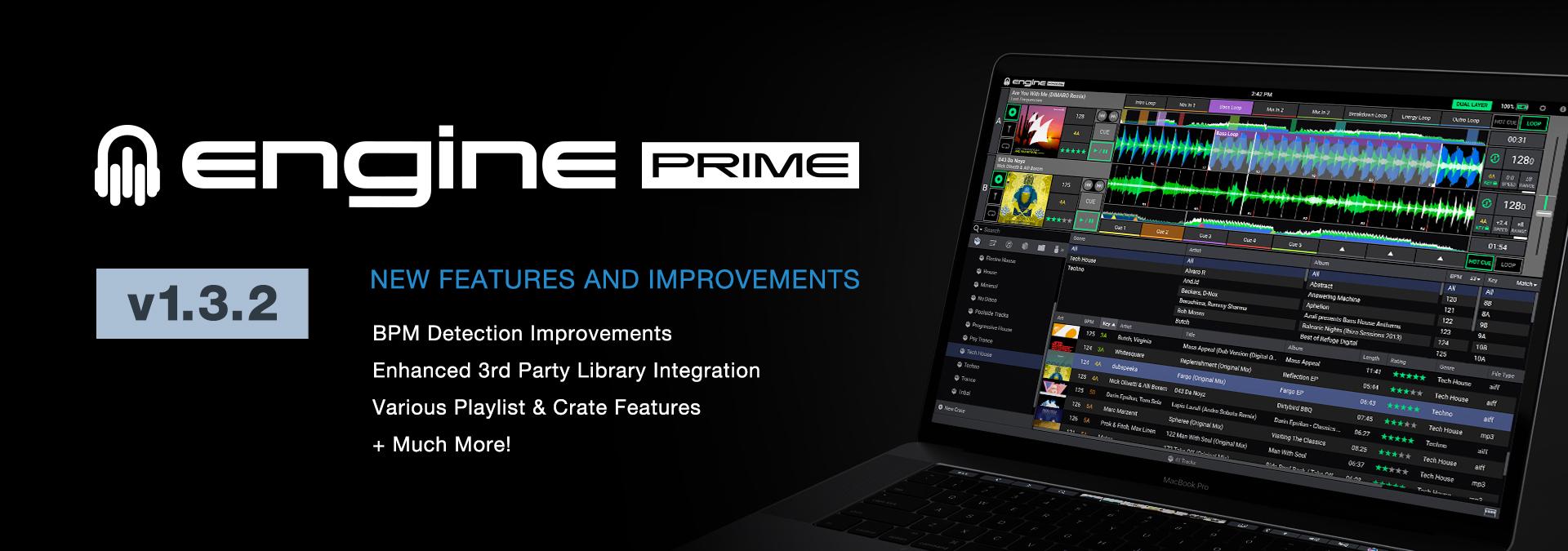 Engine Prime v1.3.2 Update