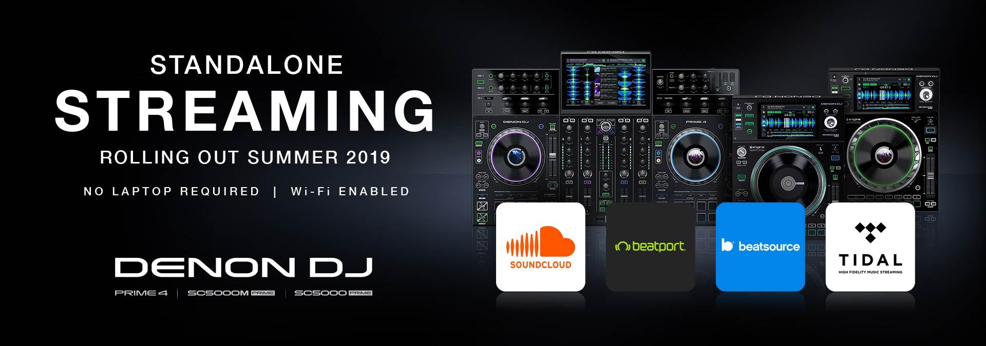 Ook Denon presenteert de mogelijkheid tot DJ streaming op hun Prime series!