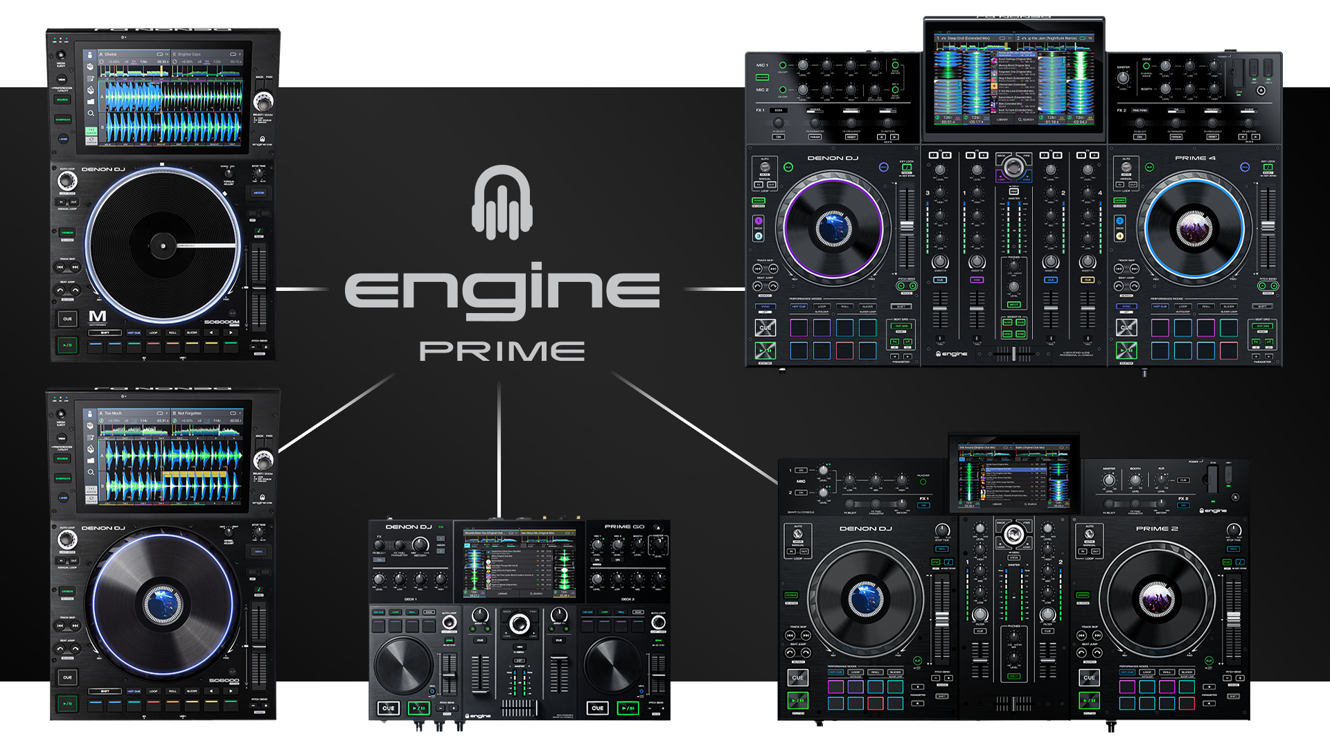 Engine Prime can play tracks from a variety of services, sources and formats