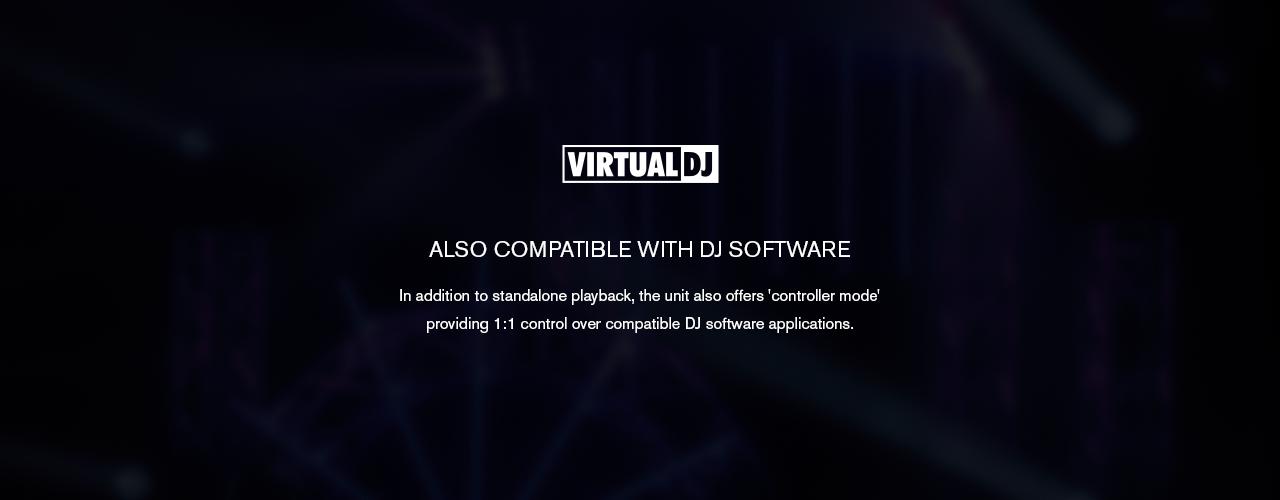 Controller Mode provides 1:1 control over VirtualDJ