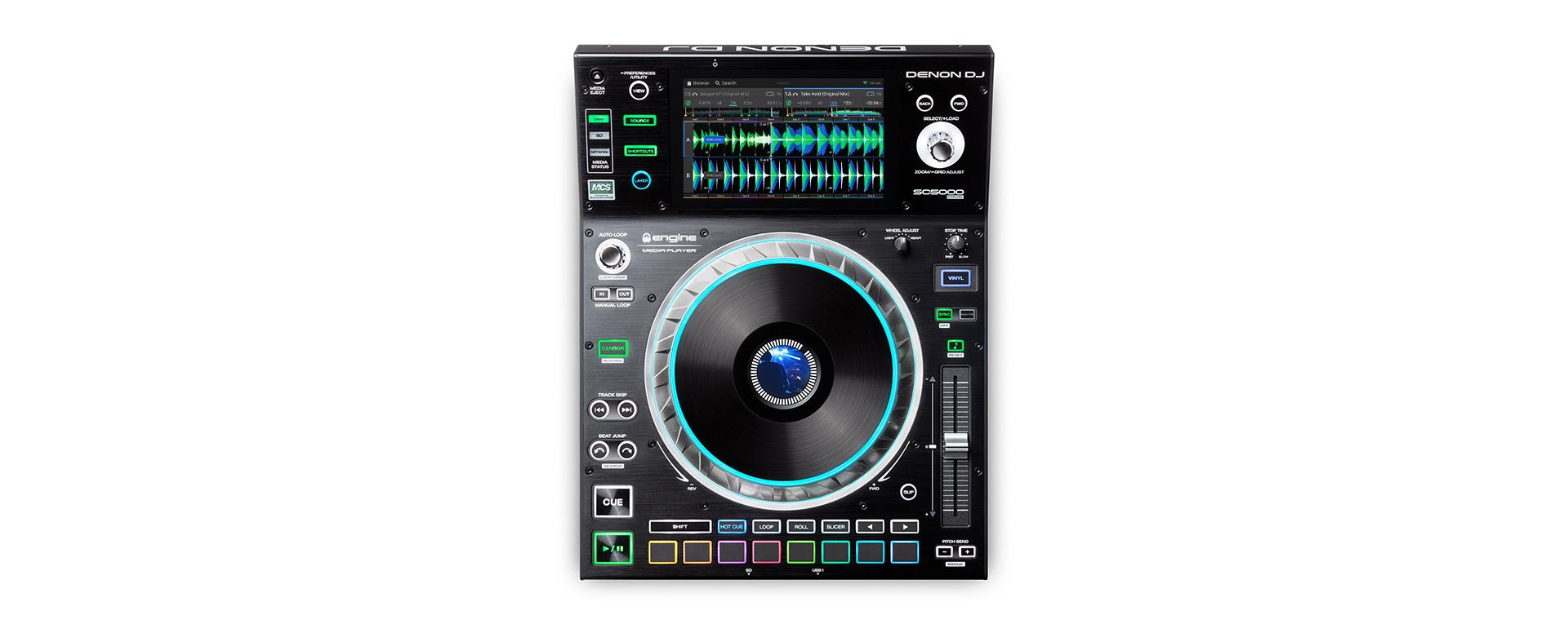 Denon DJ SC5000 PRIME top view
