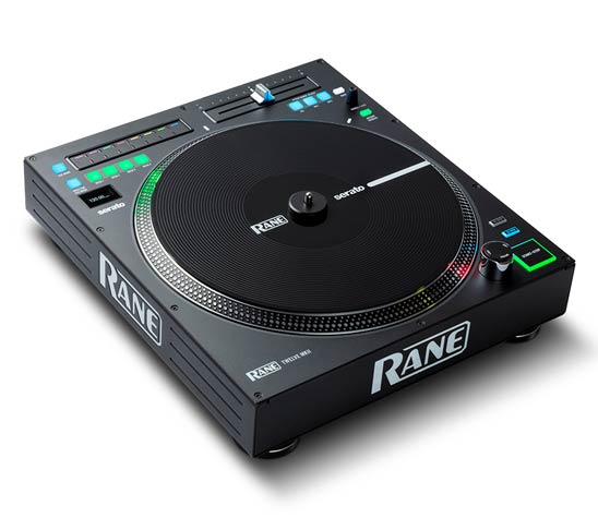 TWELVE MKII - Multi Platform, Legacy Control 12 inch motorized DJ turntable controller with a true vinyl like touch.
