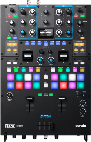 Rane Seventy DJ Mixer with Intuitive layout, best in class performance