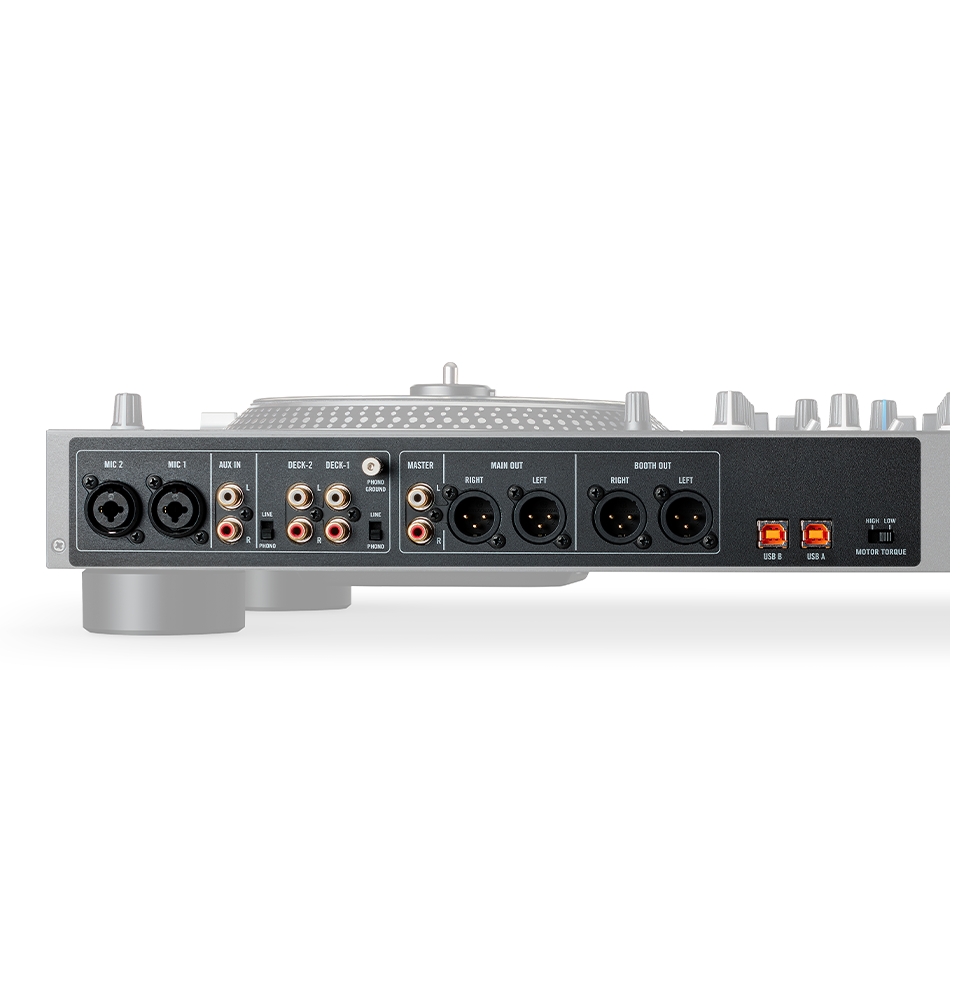 RANE ONE – With all the pro-connections you need, the RANE ONE gives multiple connectivity for the ultimate in flexibility