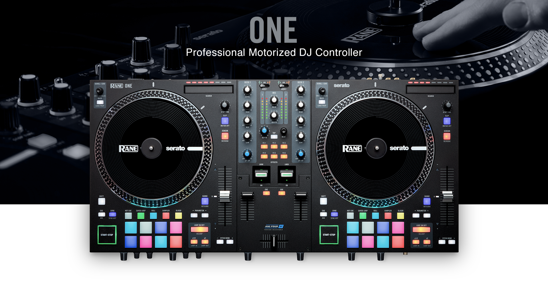 RANE ONE – Professional Motorized DJ Controller