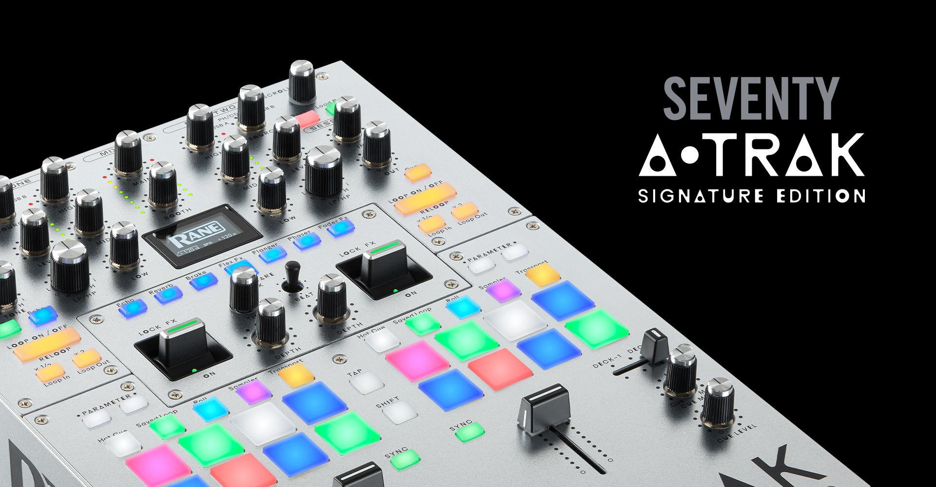RANE SEVENTY A-TRAK SIGNATURE EDITION DJ Battle Mixer